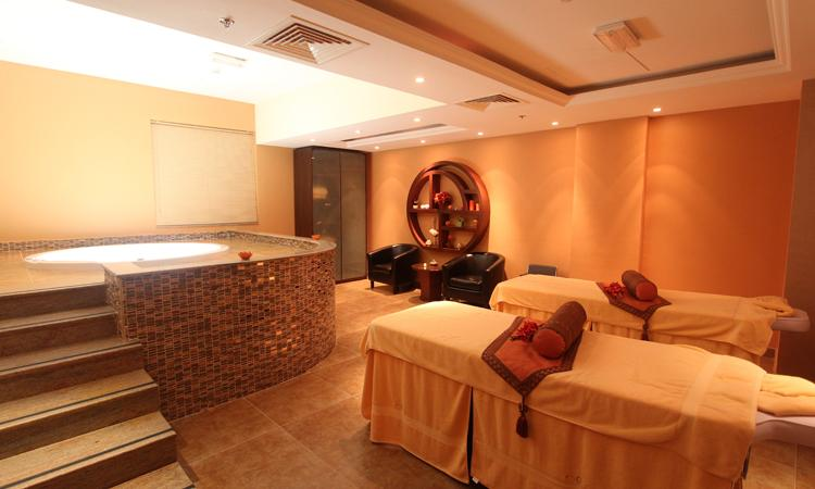Spa Couple Massage Room